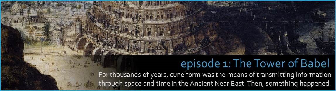 For thousands of years, cuneiform was the means of transmitting information through space and time in the Ancient Near East. Then, something happened.