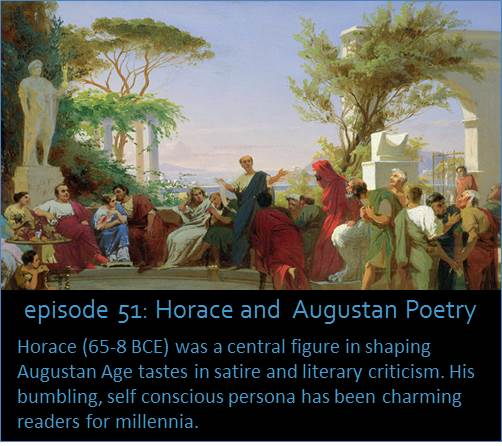 The Roman poet Horace (65-8 BCE), a contemporary of Augustus, endured wars, regime changes, and became a literary spokesman for the new principate.