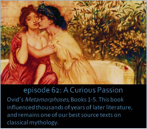 Ovid's Metamorphoses, Books 6-10. In the middle portion of Ovid's great poem, psychological transformations become as gripping as physical ones.