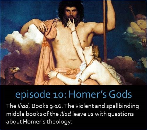 The Iliad, Books 9-16. The violent and spellbinding middle books of the Iliad leave us with questions about Homer's theology.